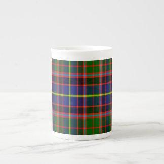 Tartán del escocés de Norvel Taza De Porcelana