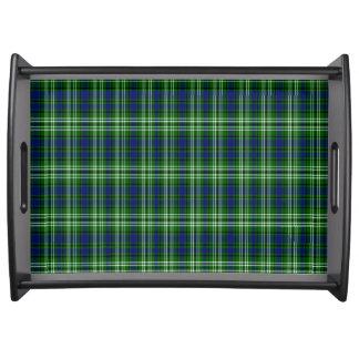 Tartán del escocés de Spottiswood Bandeja