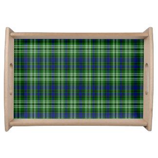 Tartán del escocés de Spottiswood Bandejas