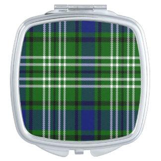 Tartán del escocés de Spottiswood Espejos Maquillaje