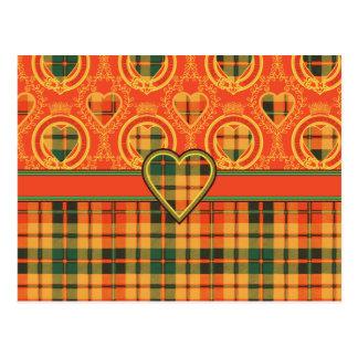 Tartán del escocés de Strathearn Postales