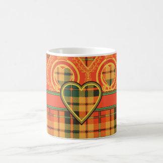 Tartán del escocés de Strathearn Tazas De Café