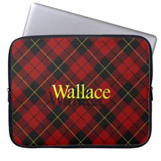 Tartán del escocés de Wallace del clan Mangas Portátiles