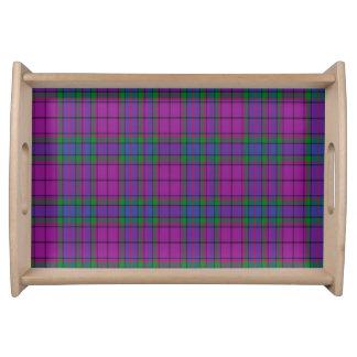 Tartán del escocés de Wardlaw Bandeja