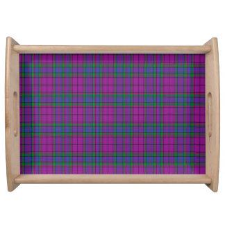 Tartán del escocés de Wardlaw Bandejas