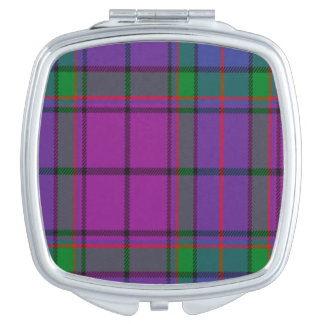 Tartán del escocés de Wardlaw Espejos De Viaje