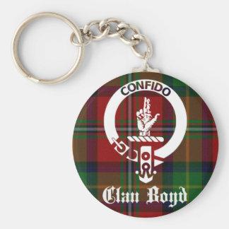 Tartán del escudo de Boyd del clan Llavero Redondo Tipo Pin