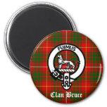 Tartán del escudo de Bruce del clan Imanes De Nevera