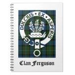 Tartán del escudo de Ferguson del clan Libretas