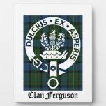 Tartán del escudo de Ferguson del clan Placas Con Foto