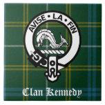 Tartán del escudo de Kennedy del clan Azulejos