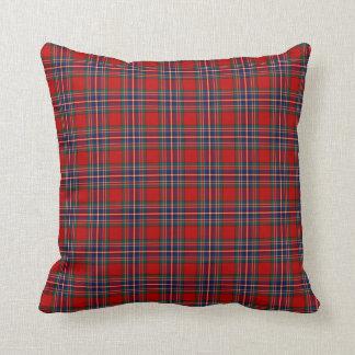 Tartán del rojo de MacFarlane del clan Cojín Decorativo