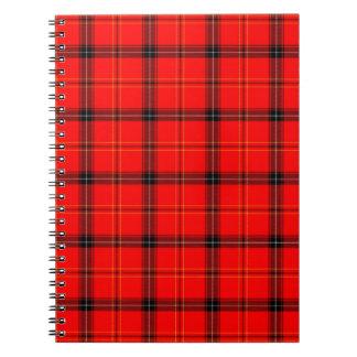 Tartan Design Notebook