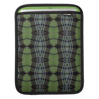 Tartan elegant bold and stylish iPad sleeve