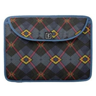 Tartan elegant bold and stylish MacBook pro sleeves