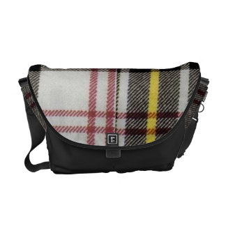 Tartan elegant bold and stylish messenger bag