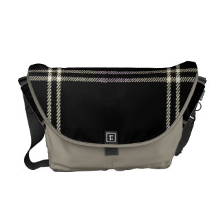Tartan elegant bold and stylish courier bags