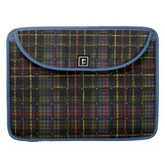 Tartan elegant bold and stylish sleeve for MacBook pro