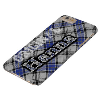 Tartán escocés de Hanna Hannay del clan Funda De iPhone 6 Plus Barely There