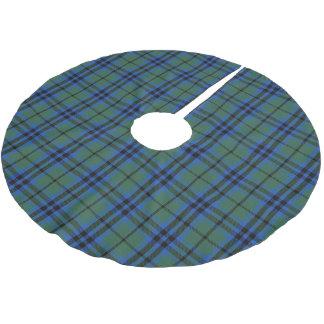 Tartán escocés de Keith del clan Falda Para Arbol De Navidad De Poliéster
