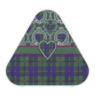 Tartán escocés de la falda escocesa de la tela altavoz