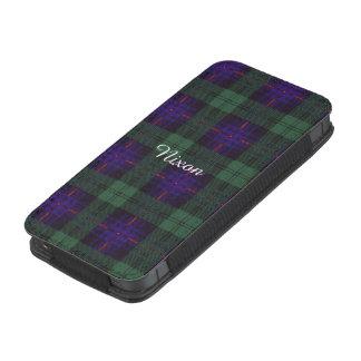 Tartán escocés de la falda escocesa de la tela bolsillo para iPhone