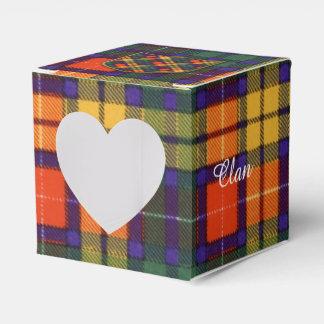 Tartán escocés de la falda escocesa de la tela caja para regalos de fiestas