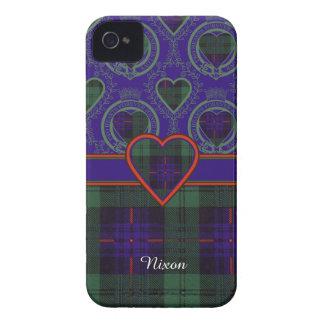 Tartán escocés de la falda escocesa de la tela Case-Mate iPhone 4 coberturas