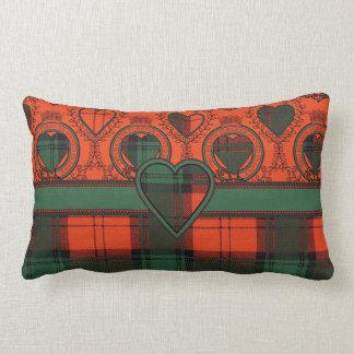 Tartán escocés de la falda escocesa de la tela cojin