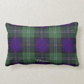 Tartán escocés de la falda escocesa de la tela almohadas