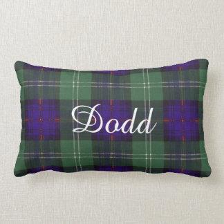 Tartán escocés de la falda escocesa de la tela cojines