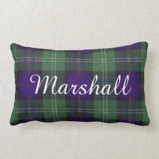 Tartán escocés de la falda escocesa de la tela almohada