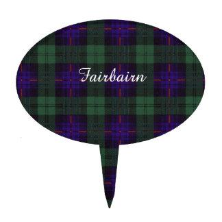 Tartán escocés de la falda escocesa de la tela decoración de tarta