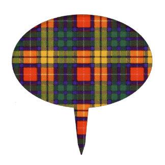 Tartán escocés de la falda escocesa de la tela decoración para tarta