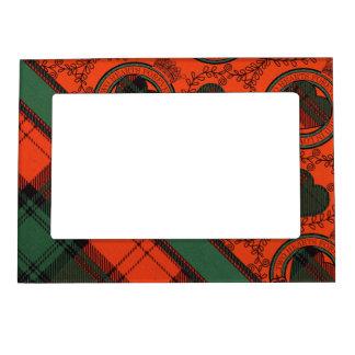 Tartán escocés de la falda escocesa de la tela foto de imanes