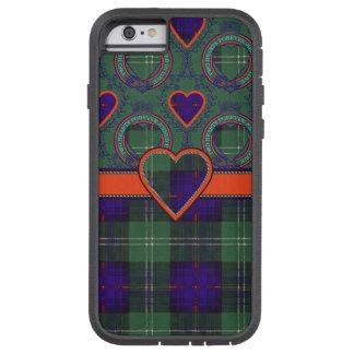 Tartán escocés de la falda escocesa de la tela funda de iPhone 6 tough xtreme