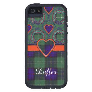 Tartán escocés de la falda escocesa de la tela iPhone 5 Case-Mate carcasas