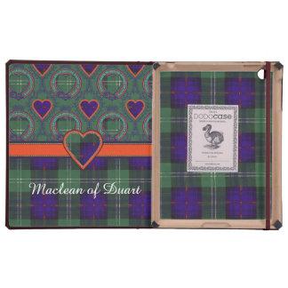 Tartán escocés de la falda escocesa de la tela iPad fundas