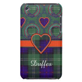 Tartán escocés de la falda escocesa de la tela iPod touch Case-Mate fundas