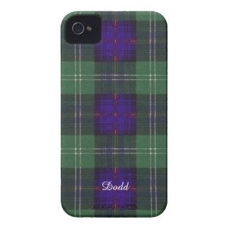 Tartán escocés de la falda escocesa de la tela Case-Mate iPhone 4 carcasas