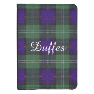 Tartán escocés de la falda escocesa de la tela funda para kindle