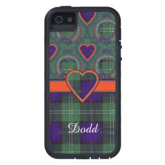 Tartán escocés de la falda escocesa de la tela iPhone 5 Case-Mate cárcasa
