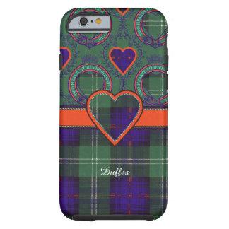 Tartán escocés de la falda escocesa de la tela funda de iPhone 6 tough