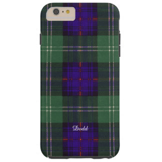 Tartán escocés de la falda escocesa de la tela funda de iPhone 6 plus tough