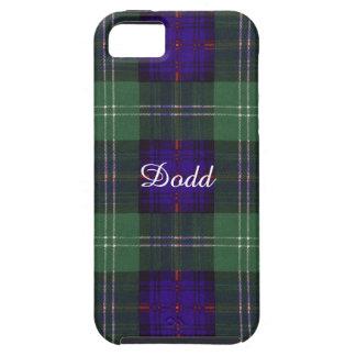Tartán escocés de la falda escocesa de la tela iPhone 5 Case-Mate cobertura