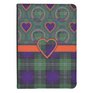 Tartán escocés de la falda escocesa de la tela funda de kindle