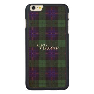 Tartán escocés de la falda escocesa de la tela funda de arce carved® para iPhone 6 plus