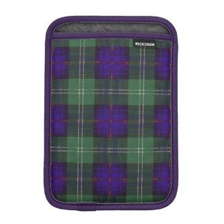 Tartán escocés de la falda escocesa de la tela fundas de iPad mini
