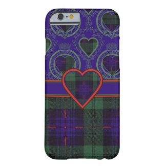 Tartán escocés de la falda escocesa de la tela funda de iPhone 6 barely there