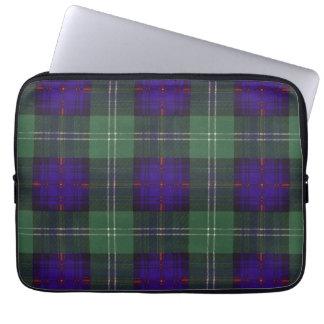 Tartán escocés de la falda escocesa de la tela mangas portátiles